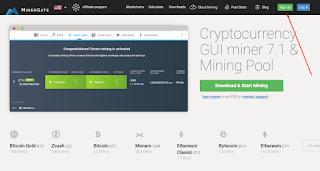 Cara Mudah Mining Bitcoin di MinerGate Melalui VPS