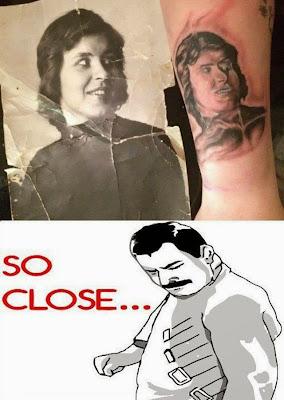 funny joke - Imagen chistosa de tatuaje