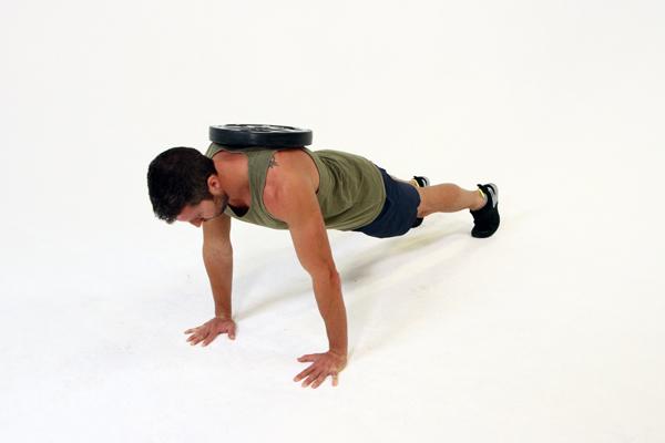 Add weight plank