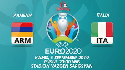 Prediksi Bola Armnia vs Italia 5 September 2019