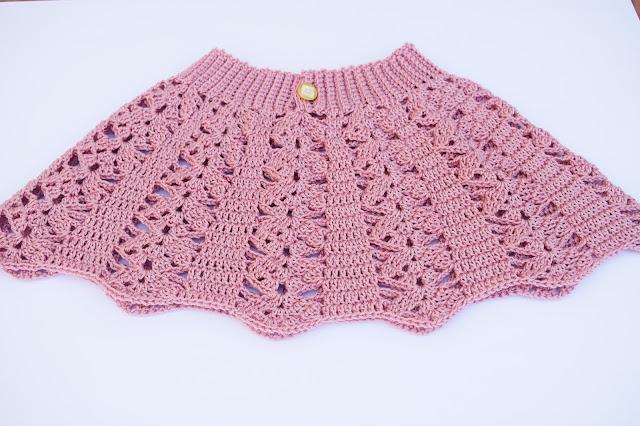 4 - Crochet imagen Falda a crochet para todas las tallas ganchillo paso a paso facil sencillo por Majovel Crochet