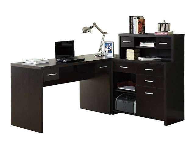 best buy modern home office furniture dark wood for sale