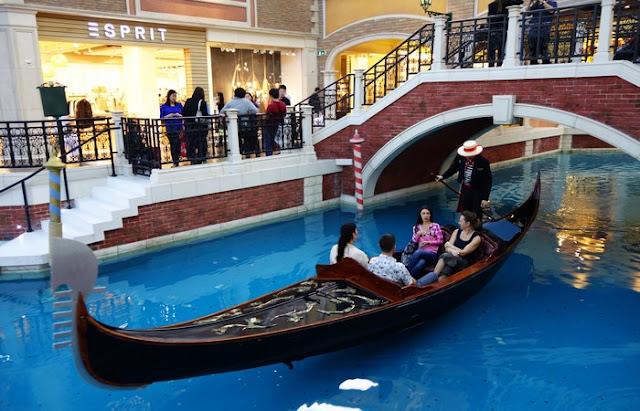 Gondola Rides at The Venetian Macau