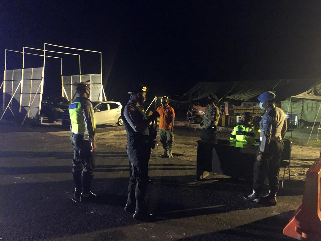 """Sat Lantas Polres Sukamara Laksanakan """"Blue Light Patrol"""""""