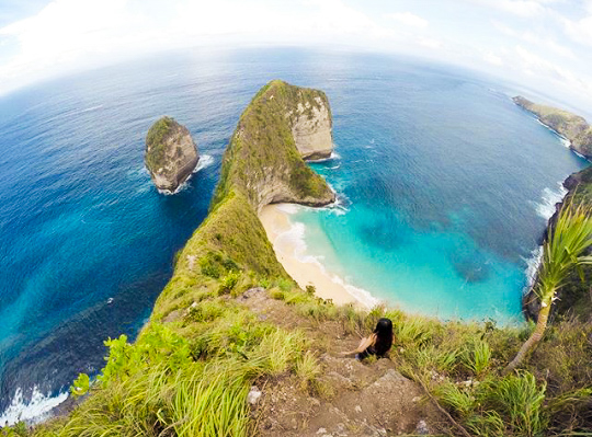 Tour Packages and The Beauty of Nusa Penida Beach Atuh Bali Indonesia
