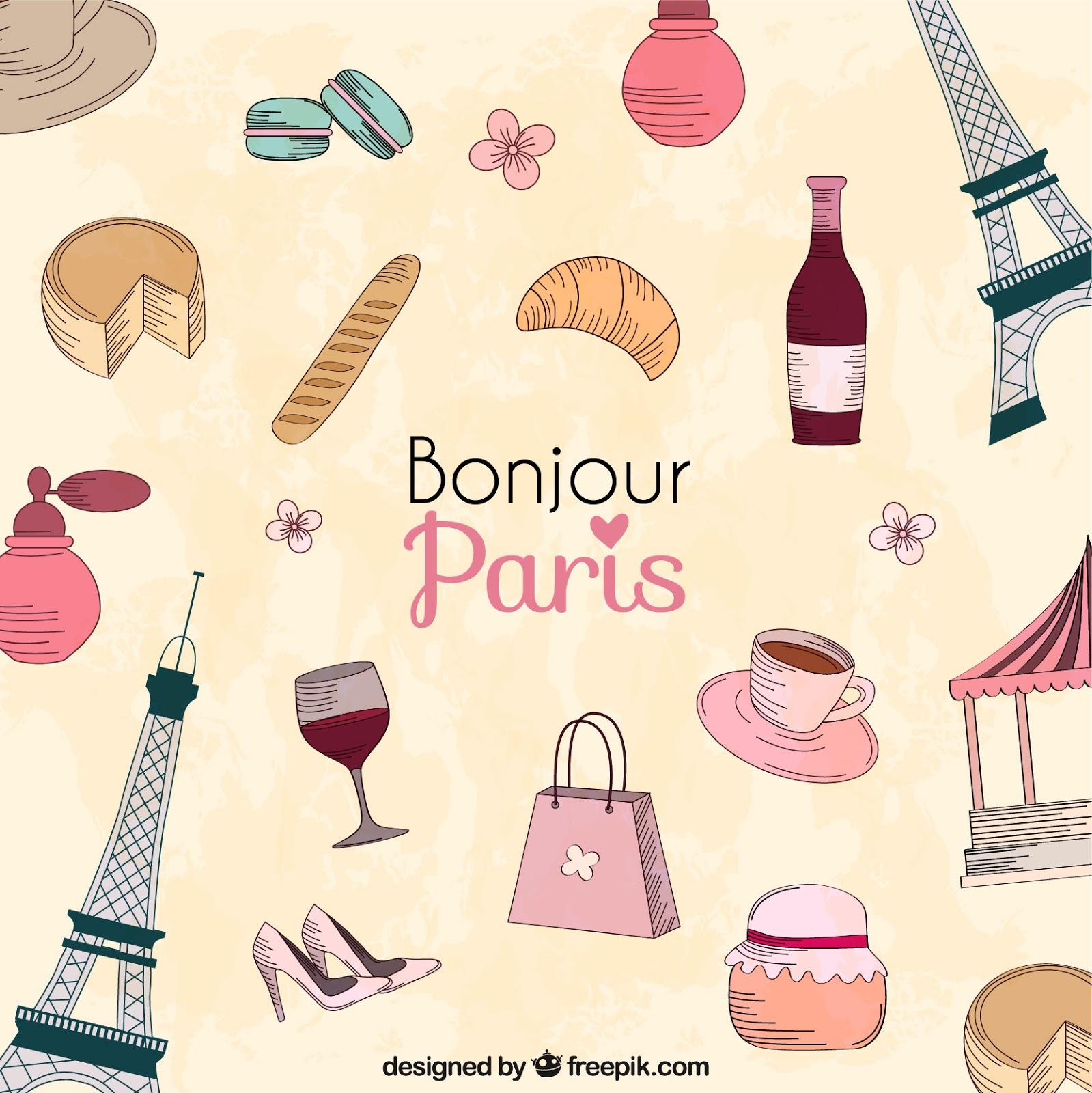 compras de cosméticos em Paris - France