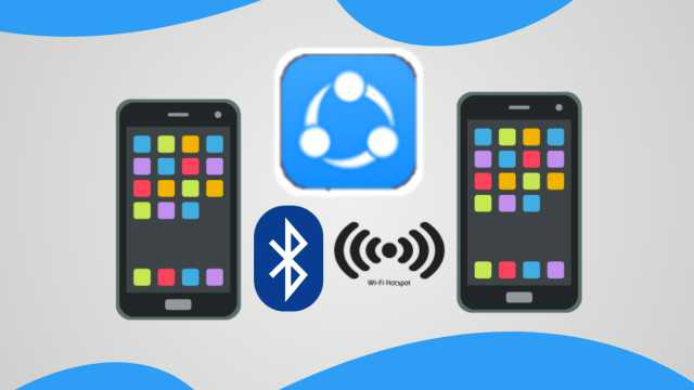 Cara Kirim Aplikasi SHAREit Lewat Bluetooth dan Hotspot