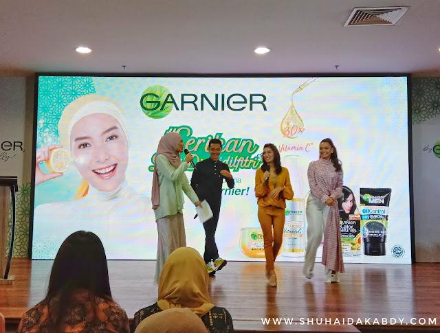 Serikan Diri di Aidilfitri Dengan Garnier