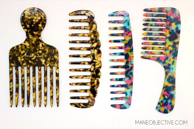 The BEST Combs for Natural and Curly Hair Eternally In Amber Combs