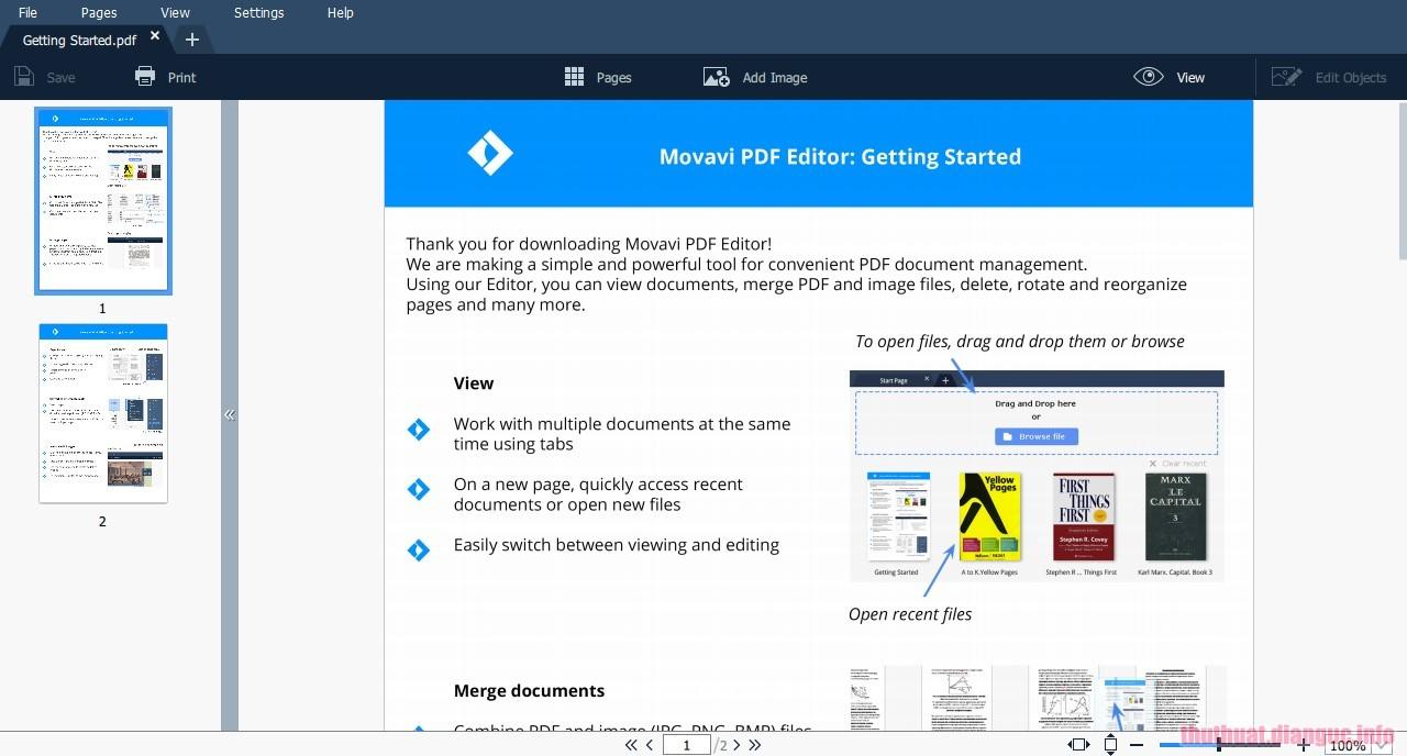 Download Movavi PDF Editor 2.4.0 Full Crack