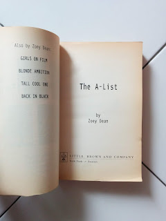 The A-List A Novel By Zoey Dean
