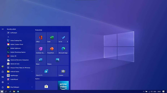 cara memasang tampilan Start Menu Windows baru di Windows 10