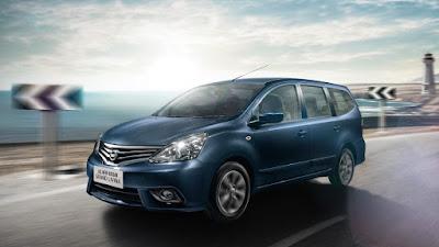 Desain Eksterior Nissan Grand Livina