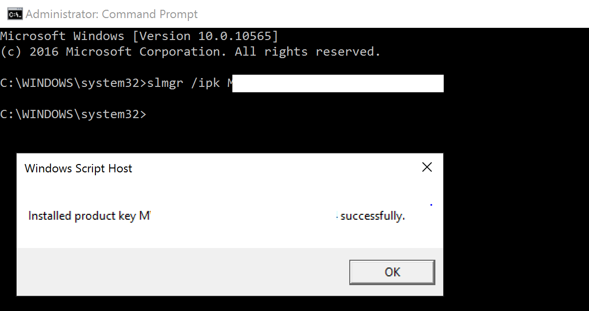 Windows10activationforcommandprompt 01g guide how to activate windows 10 from command prompt ccuart Images