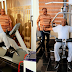 Former Vice President, Atiku Abubakar shares workout photos
