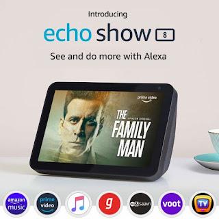 Amazon mengumumkan Echo Show 8 di India tetapi tidak akan dikirimkan hingga 26 Februari