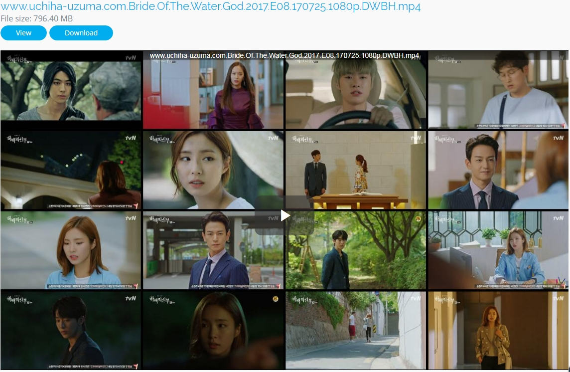 Screenshots Download Film Drama Korea Gratis Bride Of The Water God, The Bride of Habaek, 하백의 신부 (2017) Episode 08 DWBH NEXT MP4 Free
