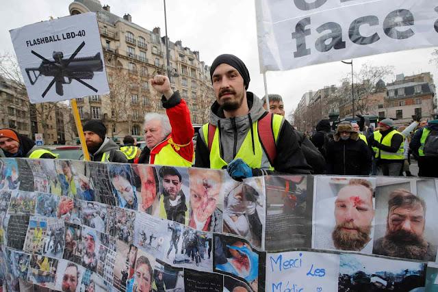 represión, Francia
