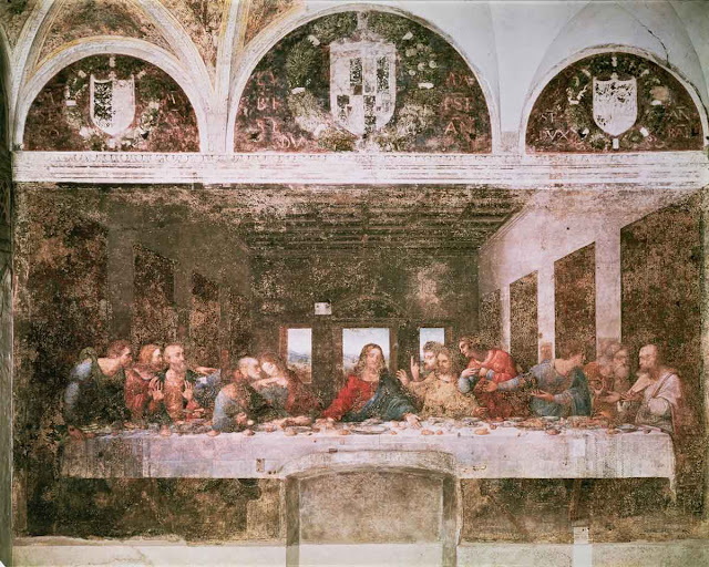 ART & ARTISTS: Leonardo da Vinci – part 2 Da Vinci Last Supper Restored