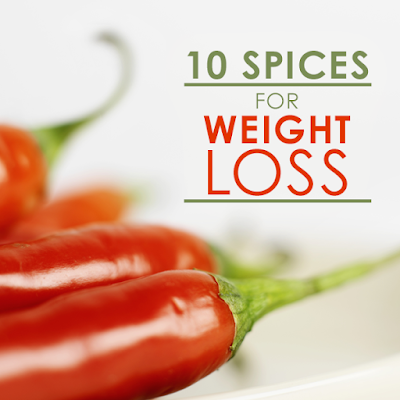 10 Spices for Weight Loss : healthy living