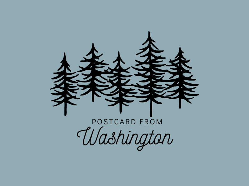 Postcard from Washington | biblio-style.com