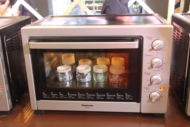 Nasi Lemak Lover: The Launch of Panasonic Electric Oven NB-H3800SSK