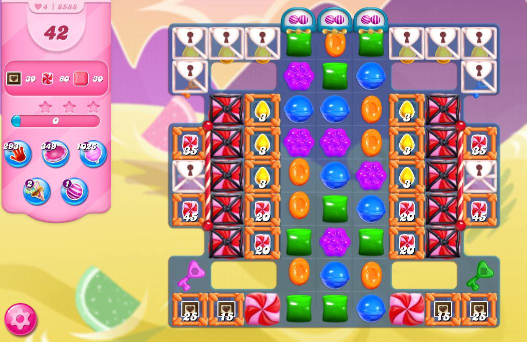 Candy Crush Saga level 8588