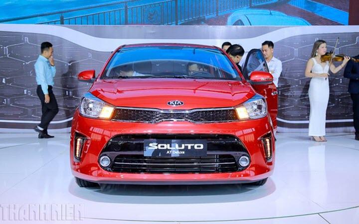 KIA Soluto giảm 30 triệu đồng, thấp nhất phân khúc sedan hạng B
