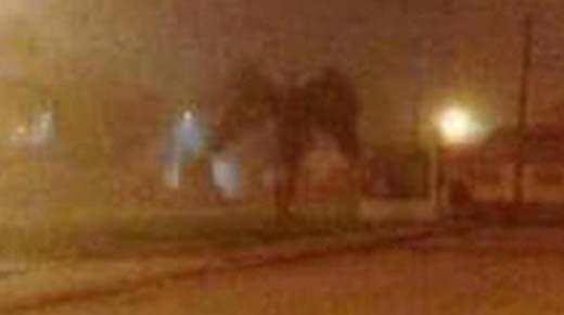Gigante humanoide con alas reportado en Phoenix