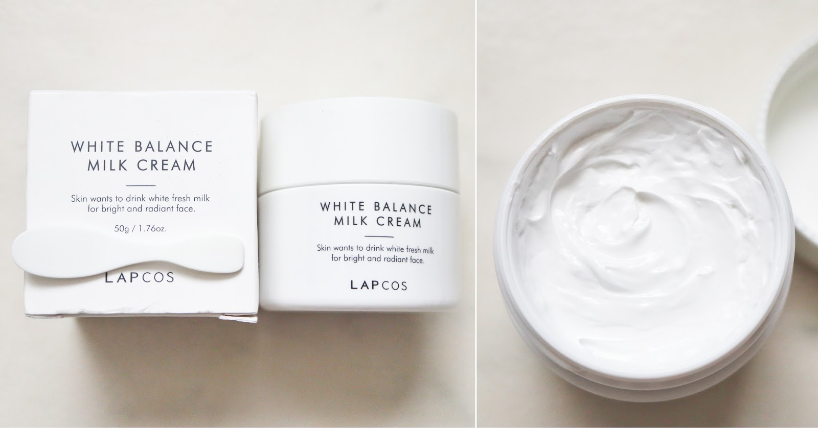 Lapcos white balance milk cream