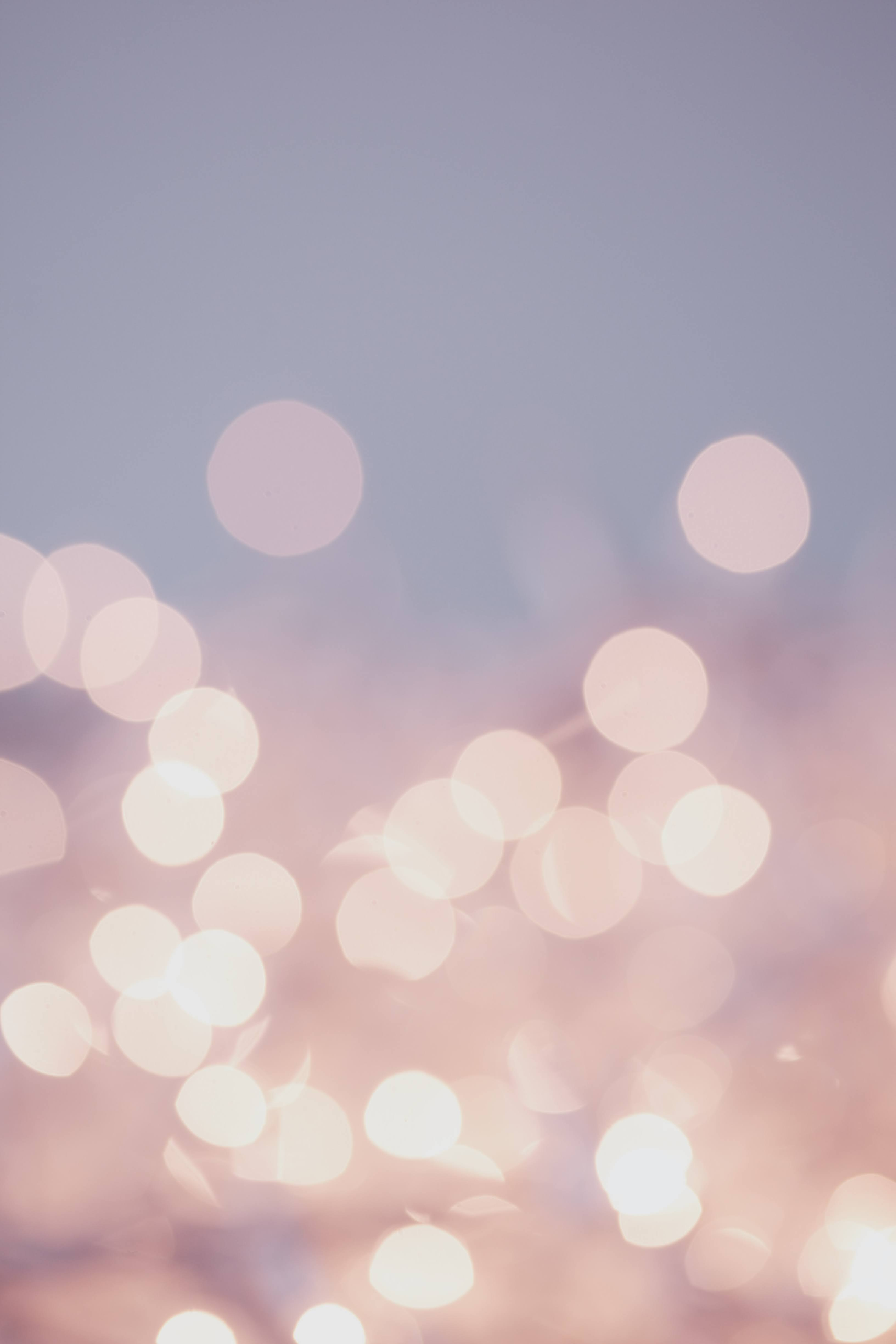 Pretty pastel bokeh fairy lights background. | Photo by Sharon McCutcheon via Unsplash