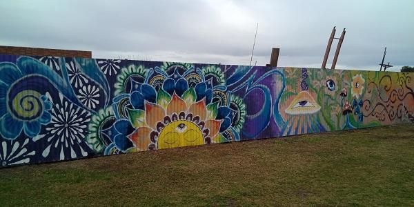 Howlong Street Art | Luna Handpoke