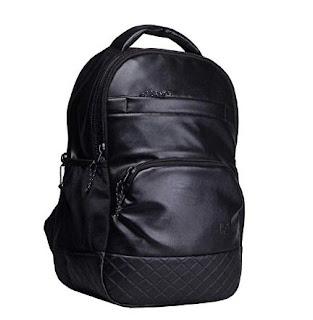 F Gear Luxur Black 25 Liter Laptop Backpack