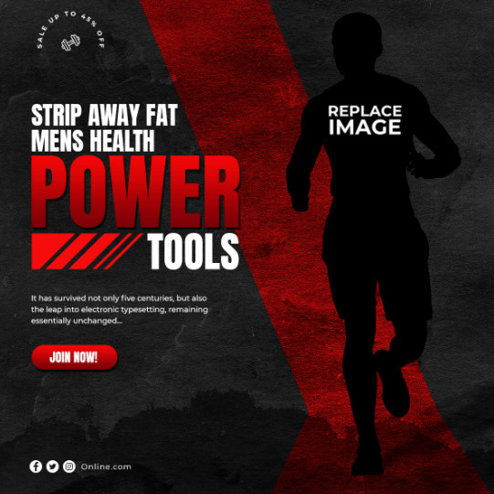 Templates - GraphicRiver - 30-Instagram & Facebook Fitness GYM Banners - 28501769 [PSD]