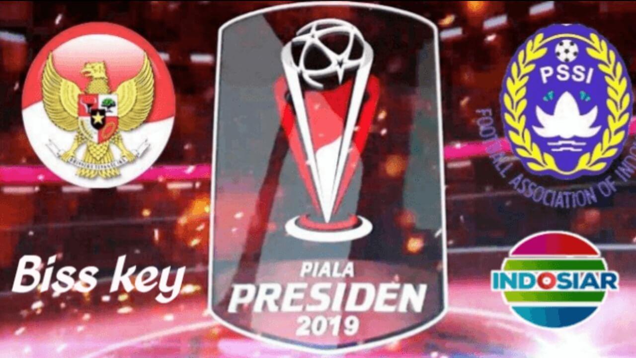 Indosiar menyiarkan piala presiden 2019