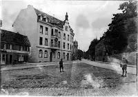 Der Ritterplatz um 1920 - Quelle: Nachlass Joseph Stoll, Stoll-Berberich 2016
