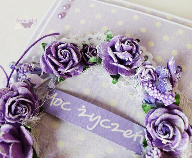 napis z kolekcji Lavender Hills