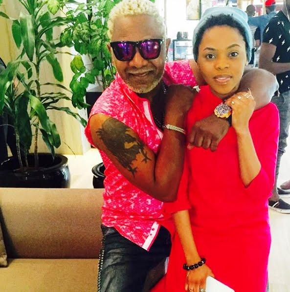 Awilo Longomba with Nigerian singer Chidinma