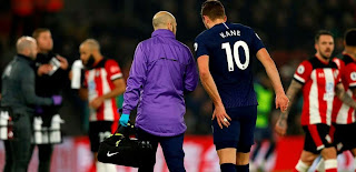 OFFICIAL: Tottenham confirm Kane ruled out until April with hamstring injury