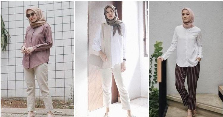 22 Pakaian Untuk Interview Kerja Berjilbab Wanita Masa Kini