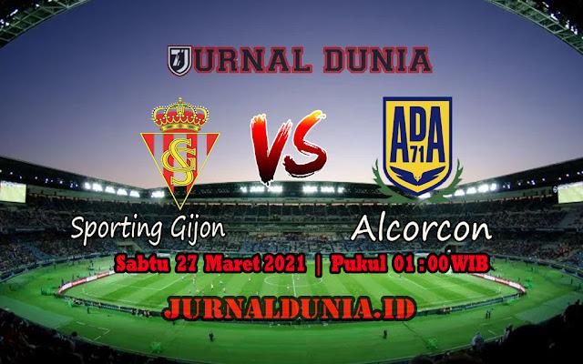 Prediksi Sporting Gijon Vs Alcorcon , Sabtu 27 Maret 2021 Pukul 01.00 WIB