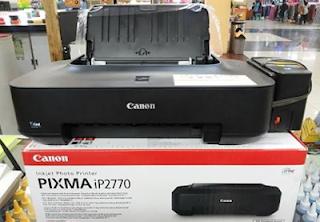 Instal Printer Canon iP2770