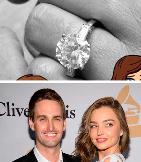 Miranda Kerr, modelo anel de noivado diamantes solitário noivado