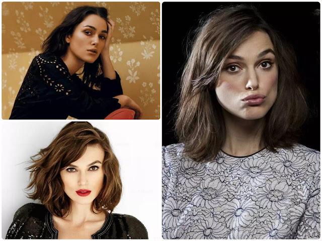 Keira Knightley Shoulder Length Hair