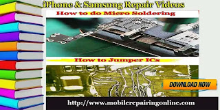 iPhone and Samsung repair video