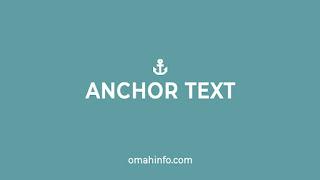 Anchor Text Yang Tepat Untuk SEO Website