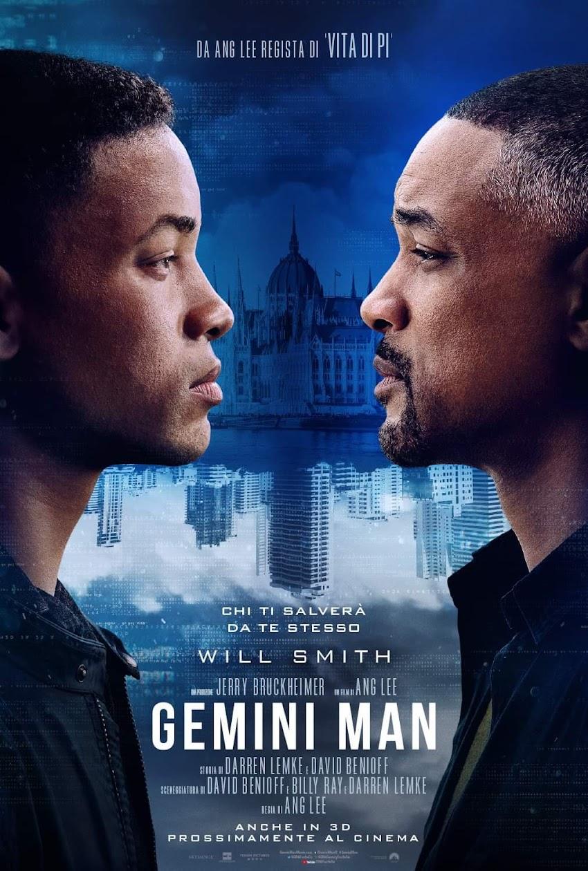 WillSmith sfida se stesso nel poster ufficiale di Gemini Man