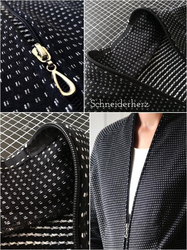 Detailbilder Reißverschluss Jacke