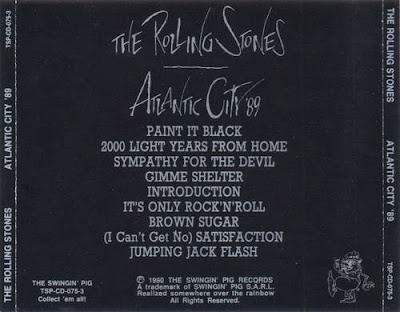 Rock Anthology The Rolling Stones Atlantic City 89 3cd