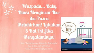 5 tips mengatasi baby blues